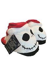The Nightmare Before Christmas Jack Skellington Head Slippers XL(4-5)