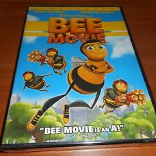 The Bee Movie (DVD, 2008, Widescreen) Animated Jerry Seinfeld NEW Dreamworks