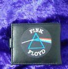Pink Floyd  Leather Mens Bi Fold Wallet BLACK