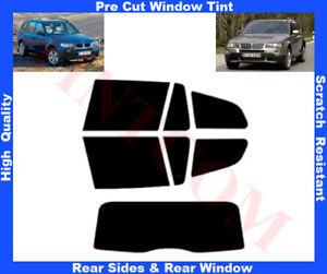BMW X3 E83 5D 2003-2010 Pre-Cut Window Tint 5%-50% Rear Window & Rear Sides