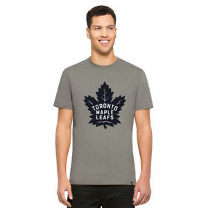 NHL T-Shirt Toronto Maple Leafs Frozen Rope grau 47 Brand Eishockey Logo