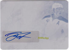 2015 LEAF Q PRINTING PLATE AUTO: JACK EICHEL #1/1 OF ONE AUTOGRAPH NHL SABRES