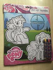 NUOVO Hasbro My Little Pony Pop Out-Twilight Sparkle Friends Pinkie 4 Crayon Pie