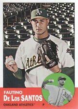 2012 Topps Heritage MLB #452 Fautino De Los Santos SP Oakland Athletics