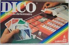 Jeu de société Dico - Le jeu du dictionnaire - Larousse - 1982