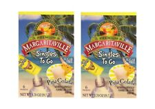 Margaritaville Singles To Go Pina Colada Sugar Free 2 Boxes (12 packets)