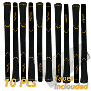 HONMA 10 Golf Griffe Golf Grips -Gold Signature  Standard Size + Tapes