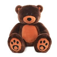 "Huge Teddy Bear 6ft Soft Stuffed Plush Animal Toys 72"" Birthday Valentine Gift"