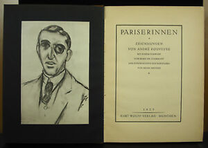Pariserinnen André Rouveyre 1923 Deutsch Ed Kurt Wolff Erotic Naked Women