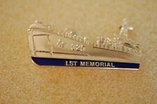 US USA USN Navy Landing Ship Tank Large Military Hat Lapel Pin