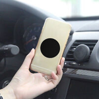 4Pcs Replacement Metal Adhesive Plate Magnet Stickers For Phone GPS Car Holder