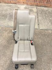 2007-2013 Lincoln Navigator Ford Expedition 2nd Row Middle Jump Seat - Stone
