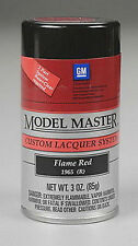Testors Model Master GM FLAME RED  Spray Paint Can  3 oz.  28110
