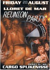 LLORET DE MAR REUNION Rave Flyer Flyers year unknown A6 Spijkenisse Netherlands