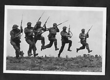 "C1990s Nostalgia Card: 1940 ""Bayonet Charge"": Australian Soldiers Training"