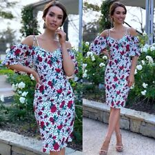 Beautiful Size 16  Dress Floral Cocktails Race Party Work Holiday Wedding