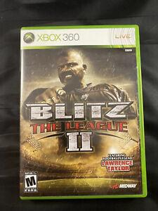 Blitz The League II (Microsoft Xbox 360, 2008) Case ONLY NO Disc NO Manual