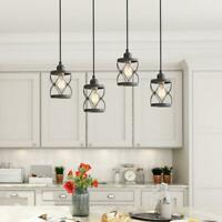 LNC Modern Farmhouse 1-Light Mini Pendant w/ Dark Pewter