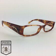 Prada Gafas Luz Tortuga Rectángulo Gafas marco Mod: VPR 071 4BW-1O1