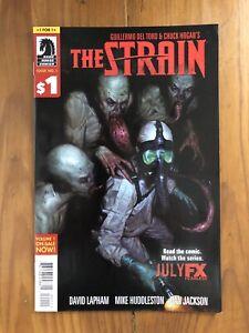 The Strain #1 (Dark Horse Comics, 2014, Guillermo del Torro)