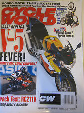 Cycle World Magazine February 2003 Mondo Moto! 17-Bike MX Shootout Rossi Replica