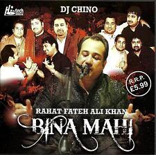 RAHAT FATEH ALI KHAN - BINA MAHI - DJ CHINO - BRAND NEW ORIGINAL CD