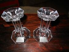 Lenox Fine Crystal Candle Holders - Ovations Line  - Made in Germany