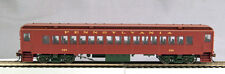 HO mP-54 Pre WWII Pennsy Coach CAR# 75 (02) Brown roof, Light Tuscan sides, o...