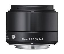 Sigma 19mm F2.8 DN Black Art Series Lens Micro Four Thirds