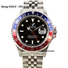 SOLID STEEL JUBILEE STRAP FOR ROLEX GMT MASTER 1675 16750 16710 WATCH 20mm