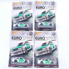 4x New Hot Wheels Euro Style BMW M3 E30 Car Culture 92 M3 Polizei Real Riders