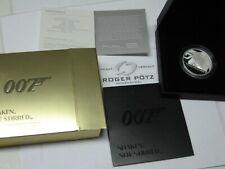 2 Pfund GBP SIR James Bond - Shaked not Stirred 2020 Silber PP