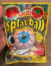 Splat Ball Eye Ball ~ Toss It! Watch It Splat!