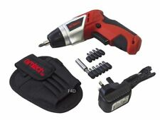 3.6V LITHIUM LI-ION RECHARGEABLE BATTERY CORDLESS SCREWDRIVER DRILL + BITS NEW