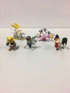 Vintage Digimon Nintendo B-98 Action Figure Lot