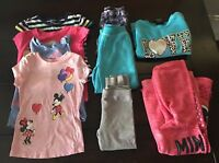 LOT Toddler Girls size 4T Clothing Play Clothes Disney Minnie Mouse LOT