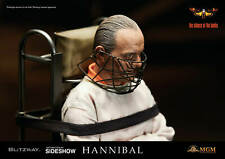 SIDESHOW COLLECTIBLES BLITZWAY HANNIBAL LECTER STRAIGHT JACKET  1/6 SCALE