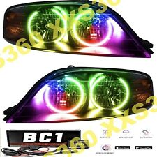 ORACLE Halo HEADLIGHTS for Lincoln LS 00-02 LED COLORSHIFT Bluetooth BC1