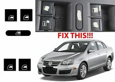 Replacement Window Switch Button Stickers For 2005-2010 VW Jetta Passat Golf New