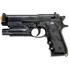 SPRING AIRSOFT PISTOL HAND GUN M9 92 FS BERETTA AIR w/ LASER SIGHT 6mm BBs BB