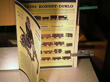 FAC SIMILE 1993 DEPLIANT 1940 MECCANO/ HORNBY/ DINKY TOYS/ AVIONS/ TRAINS