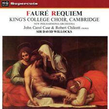 Hi-Q LP-017: FAURE - Requiem & Pavane - David WILLCOCKS, J Case - UK 2012 SEALED