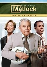 Matlock Season 6 DVD The Complete Sixth Series Six Andy Griffith