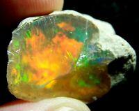 Ethiopian Opal Welo Rough ~VIDEO 31.83 CTs AAA FIRE Cutting Grade USA DEALER