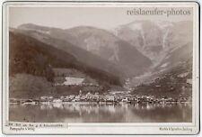 Zell am See. Würthle & Spinnhirn. Orig.-Kabinett-Photo um 1890