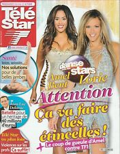Télé Star / 01-10-2012 N°1879 : Lorie/Amel Bent - Salma Hayek - Sheila- Chauvin