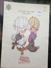 1980 PRECIOUS MOMENTS Sew in Love • 18 Cross Stitch Patterns by Gloria & Pat