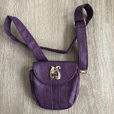 Hipzbag Faux Leather Purple HIP SHIFT Waist Belt Fanny Pack Hands Free