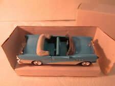 New Ray 1955 Blue Buick Century Convertible 1:43 Scale Diecast dc2612