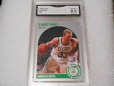 Larry Bird GRADED CARD!! 1990 Hoops #39 Boston Celtics HOFer! 8.5-2!